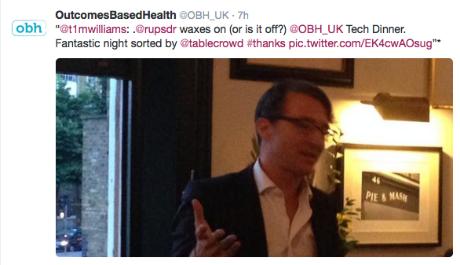 HealthTech Tweet 2